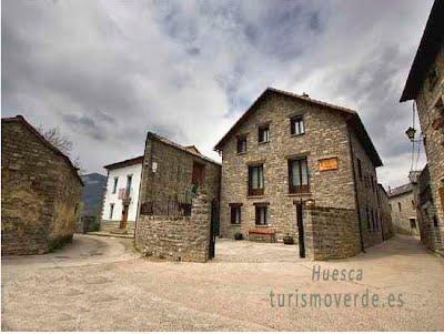 TURISMO VERDE HUESCA. Apartamentos Cañardo de Oros Alto